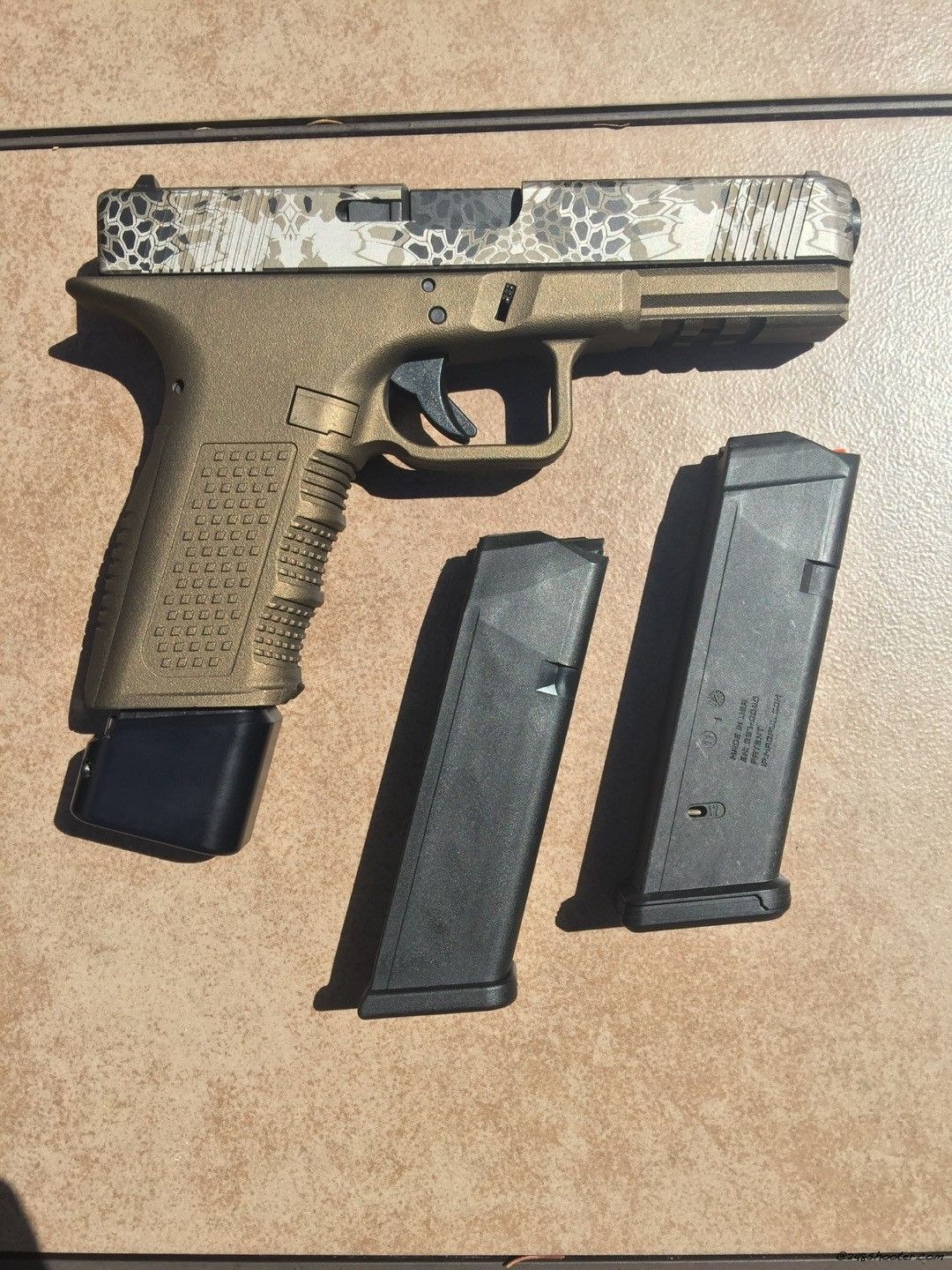 A Wolf In Glocks Clothing The Lone Oem Parts Bang Glock Take Down Pinterest