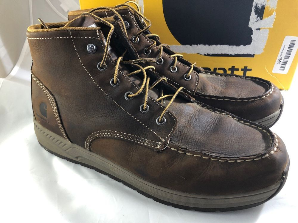 f930dade80c Carhartt CMX4023 4 Lightweight Wedge Boot Brown Size 11.5 #fashion ...