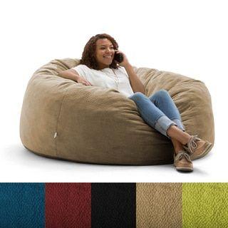 Fine Fufsack Memory Foam Microfiber 6 Foot Xl Bean Bag Chair Alphanode Cool Chair Designs And Ideas Alphanodeonline