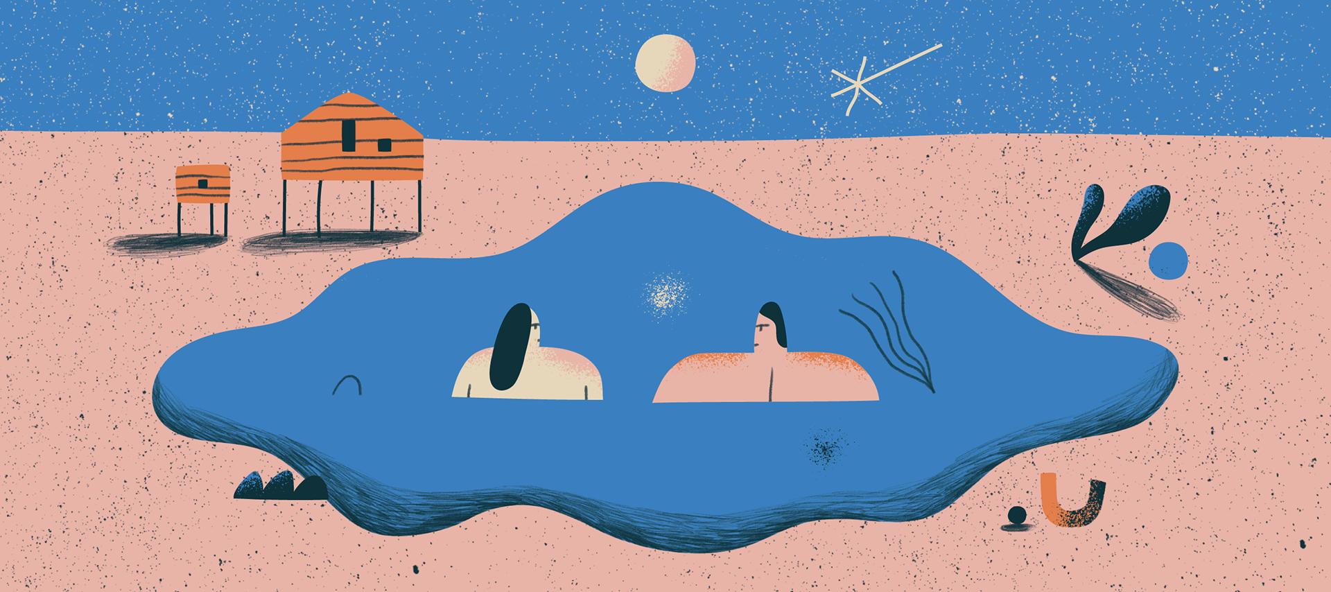 Katie Gorbacheva On Behance Summer Illustrations A Series