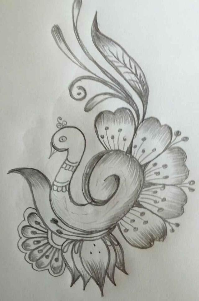 L Love Drawing Pencil Art Drawings Bird Drawings Pencil