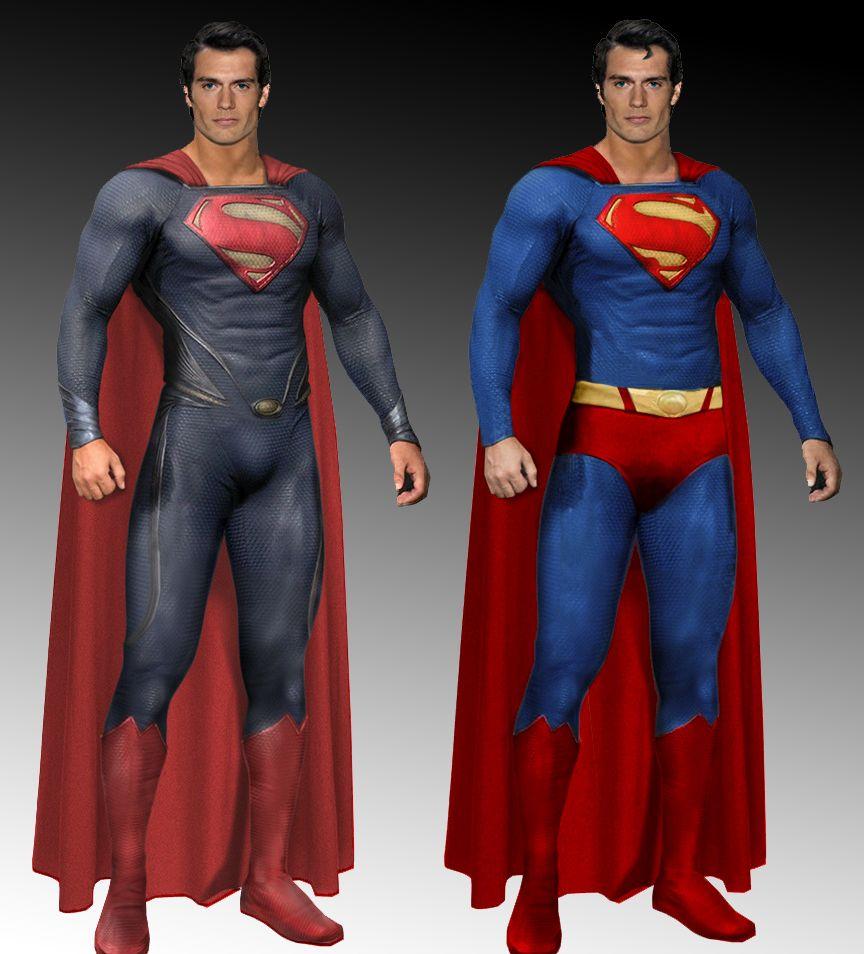 Superman Costume Comparison