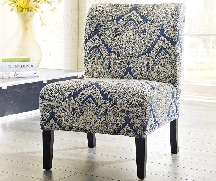 Best Honnally Sapphire Accent Chair Accent Chairs Chair 400 x 300
