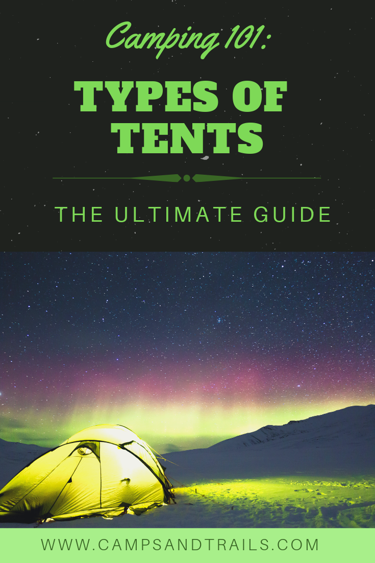 Camping 101: Types of Tents   Tent, Camping