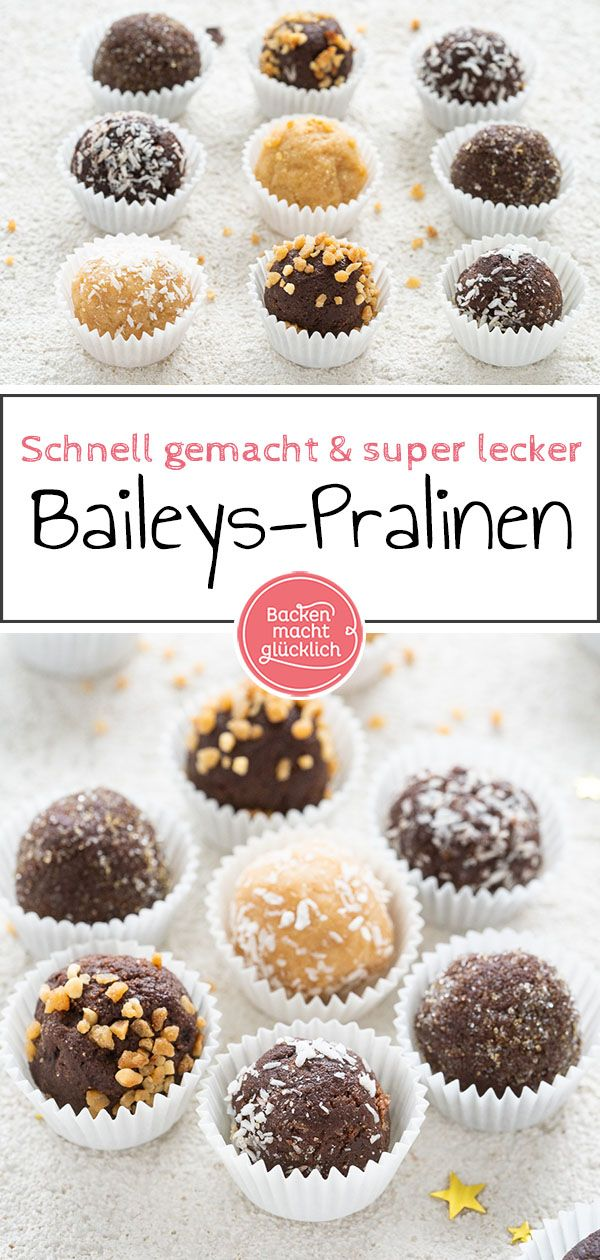 Baileys-Kugeln #löffelbiskuitrezept