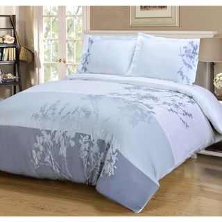 Impressions Cotton Sydney 3-piece Duvet Cover Set - Overstock™ Shopping - Great Deals on Duvet Covers
