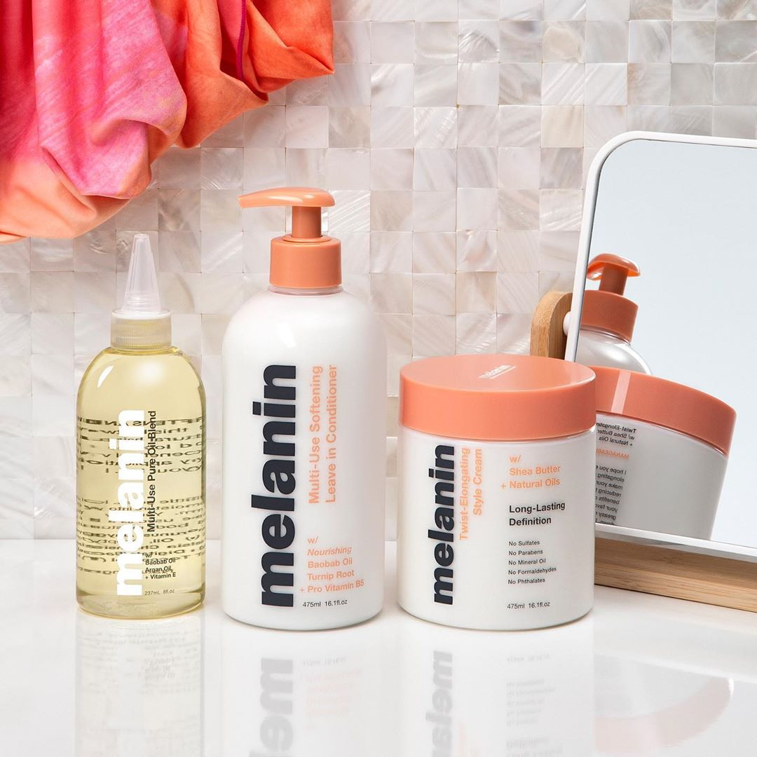 "Melanin Haircare™'s Instagram profile post "" WASH DAY"