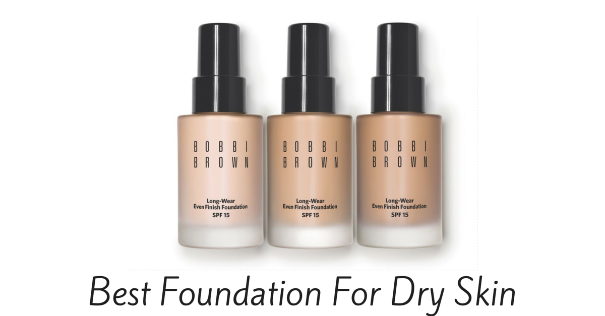 Foundation for mature dry skin