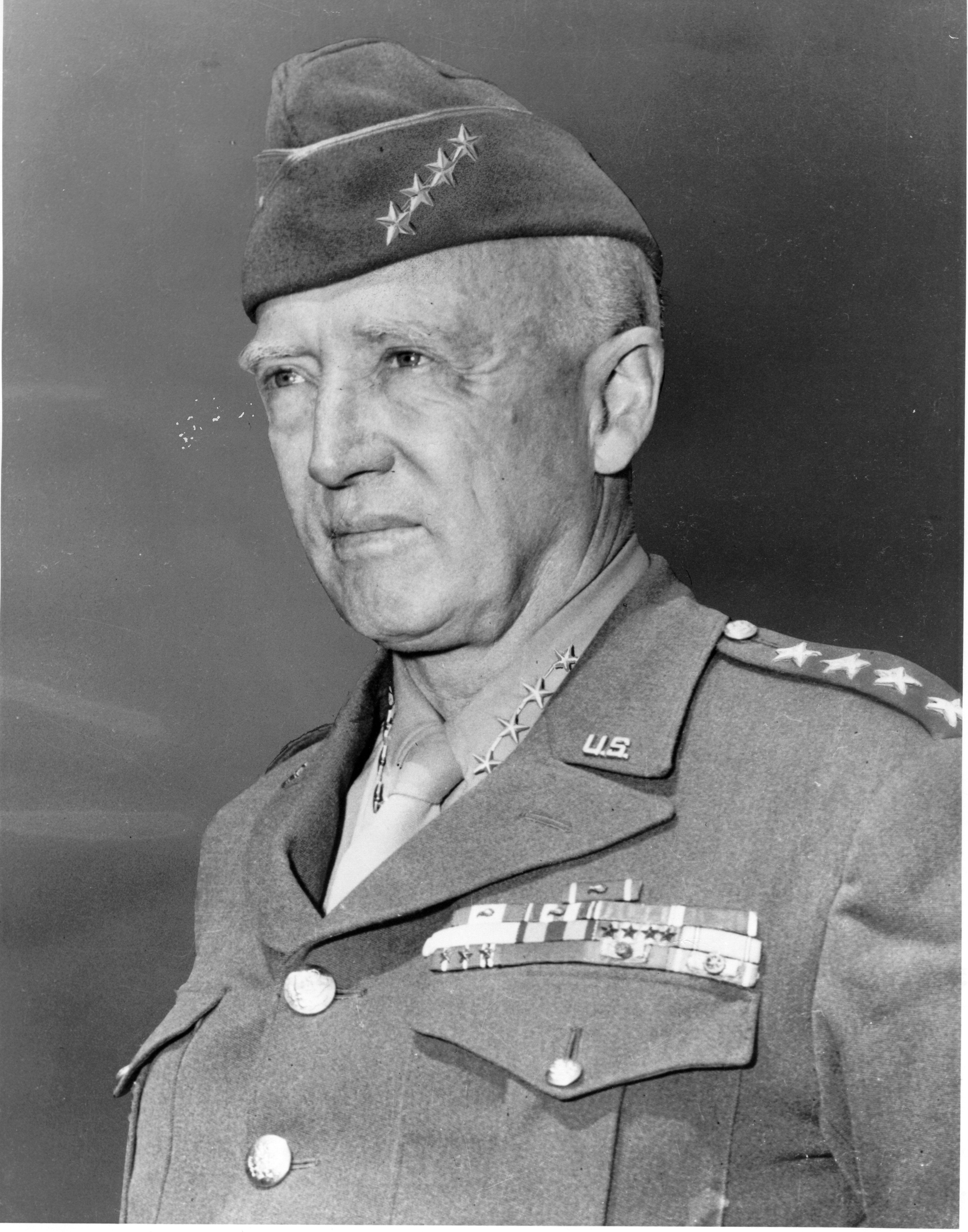which general was known as old blood and guts