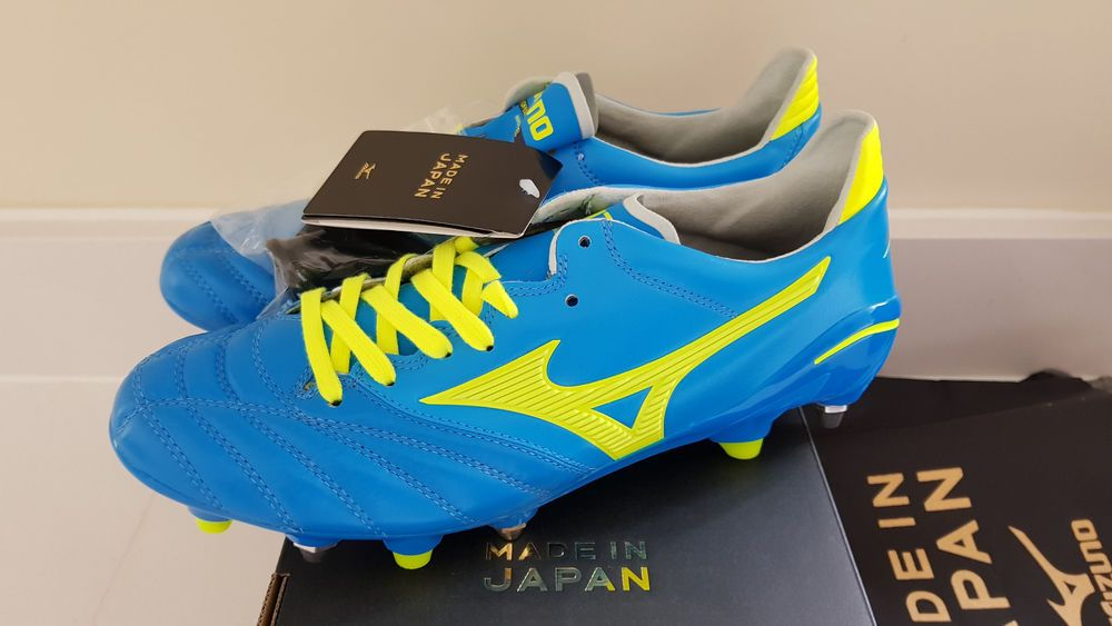a14b29239 MIZUNO MORELIA NEO II MIX STUDS FOOTBALL BOOTS PRO LTD MADE IN JAPAN SOCCER  UK 7 #Mizuno