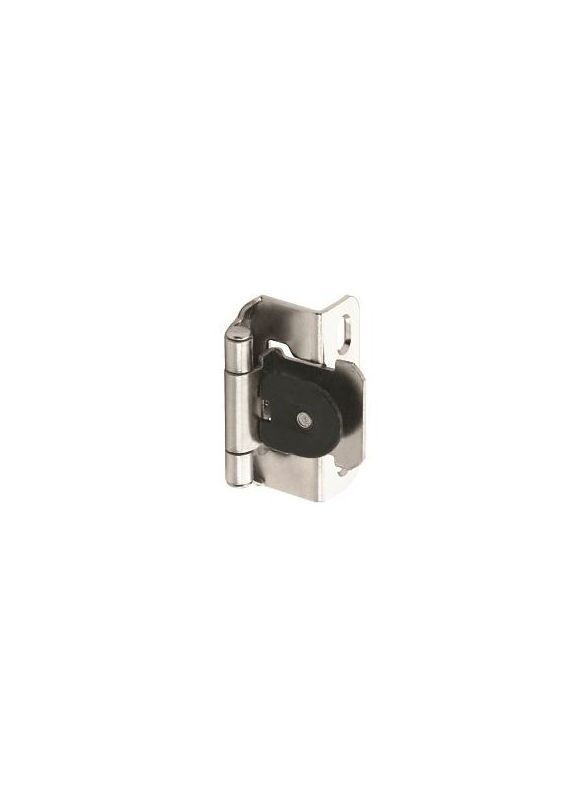 Amerock Cm8719 Bnd Functional 1 2 Overlay Partial Wrap Single Demountable Hinge Nickel Cabinet Hinges Overlay Hinges Wrap Hinge Overlay Hinges Hinges Overlays