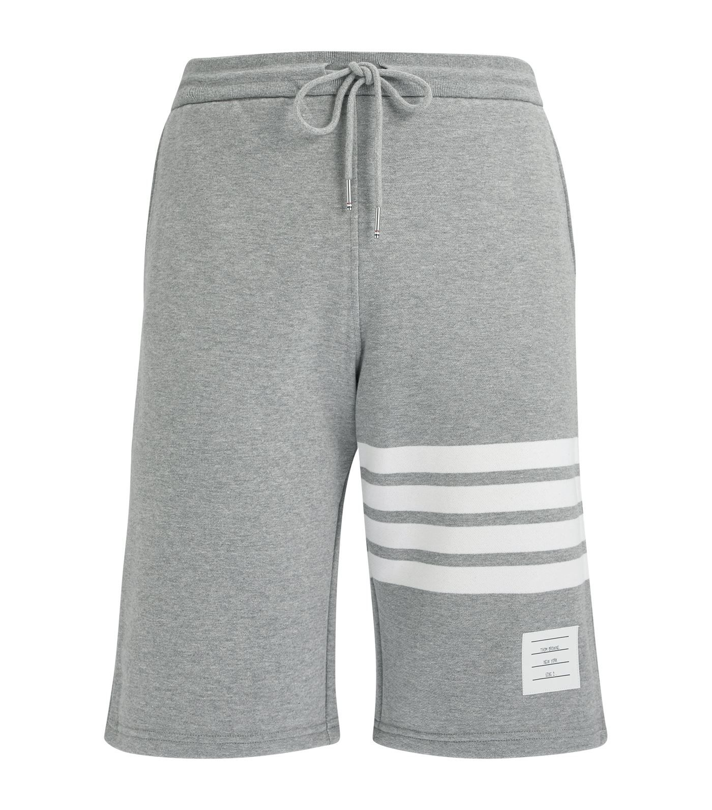 dcc195ac94c85 THOM BROWNE THOM BROWNE - LOGO PATCH STRIPED SEERSUCKER SWIM SHORTS - MENS  - LIGHT BLUE. #thombrowne #cloth | Thom Browne in 2019 | Thom browne, Swim  shorts ...