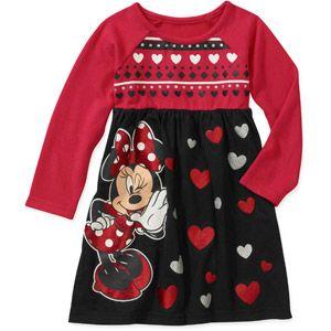 597fd395670 Disney Baby Girls  Minnie Sweater Dress 4T Disney Baby Clothes