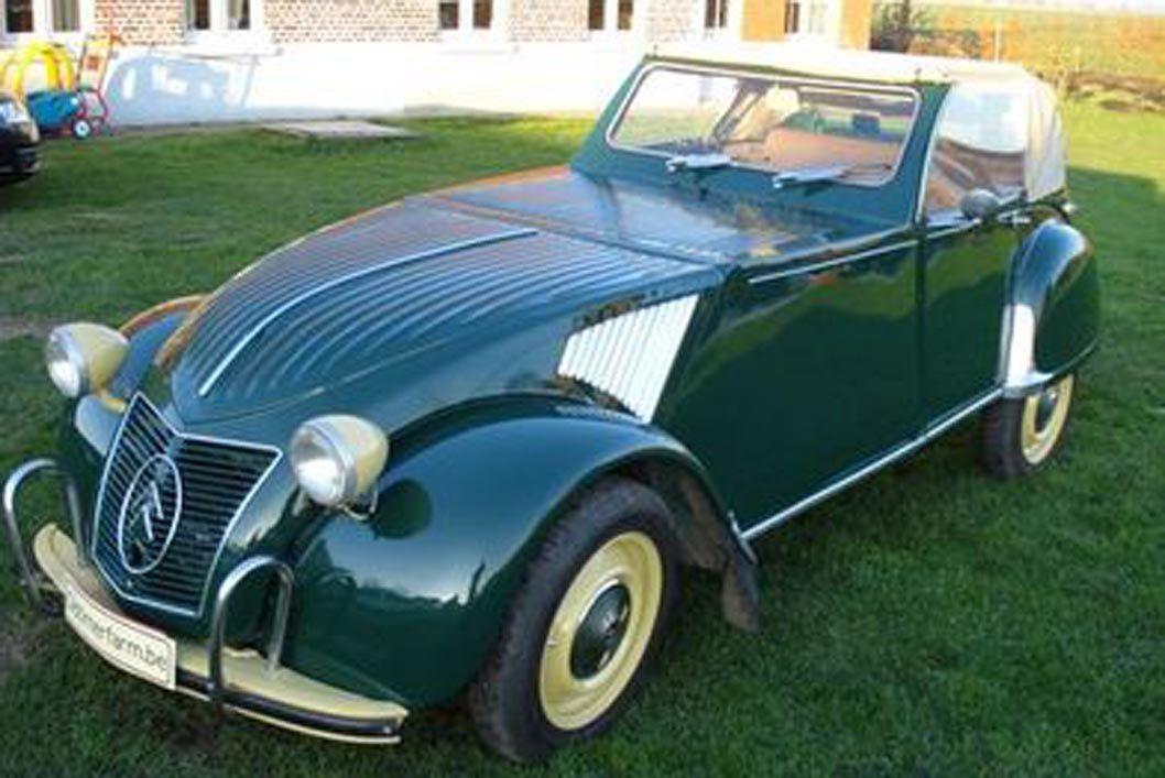 citroen 2 cv custom cabriolet de 1964 wheels afire. Black Bedroom Furniture Sets. Home Design Ideas