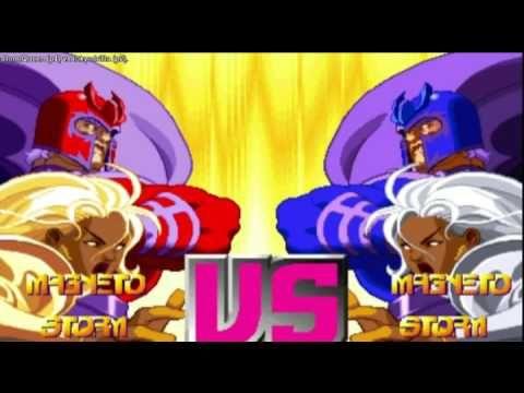 X-Men vs Street Fighter - StormQueen vs Tokyodrifta