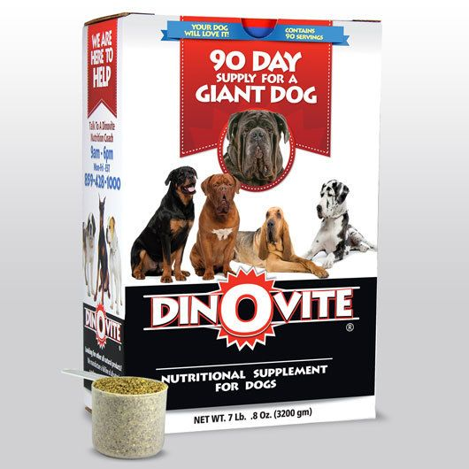 Dinovite For Giant Dogs Giant Dogs Dog Food Recipes Dogs