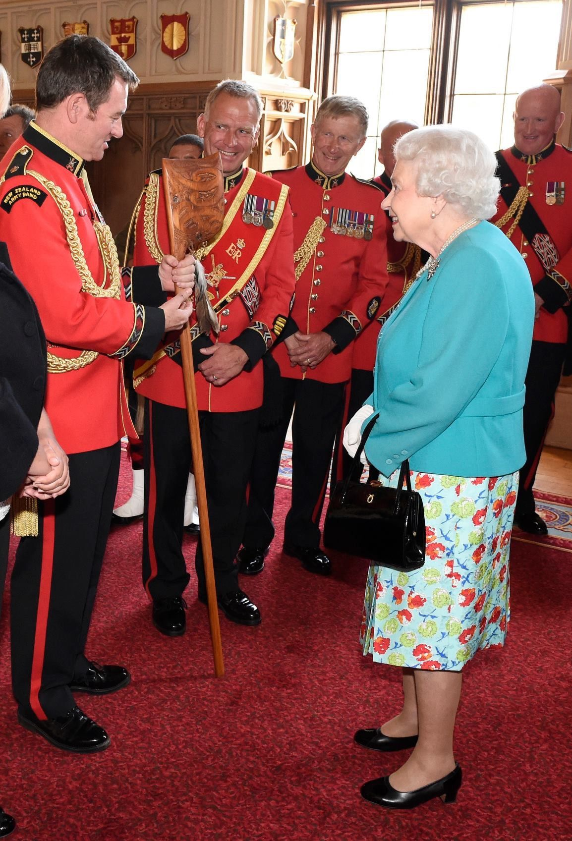 The NZ Army Band had the great honour of presenting Her