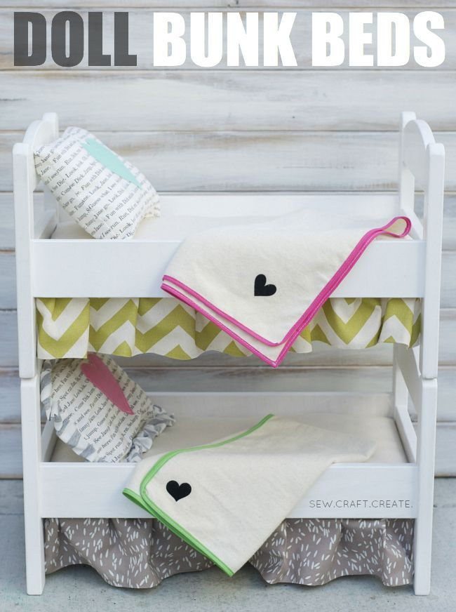 Diy Doll Bunk Beds Awesome Idea Personally I Wouldnt Buy The