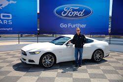 Mustang 50 Celebración en Charlotte estafa Bill Ford
