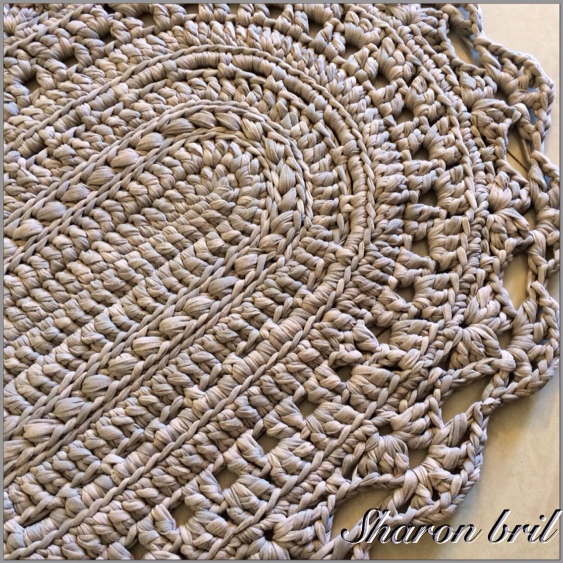Pin By Sharon Bril On Crochet Oval Rug