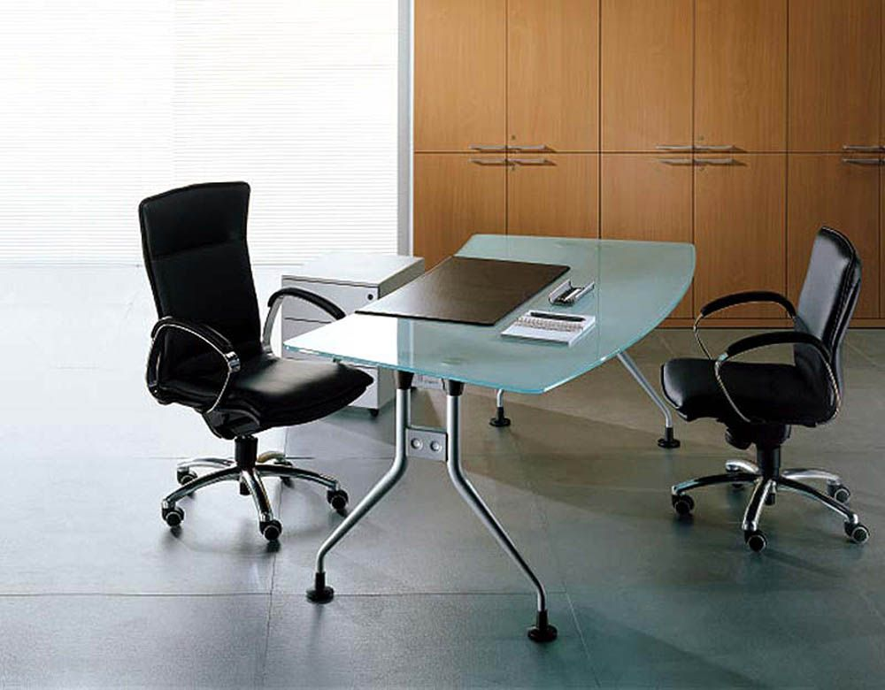 glass office table. Office Furniture Design Ideas Http://www.desgnplanet.com/contemporary-office-furniture-design-ideas/ | Pinterest Glass Table