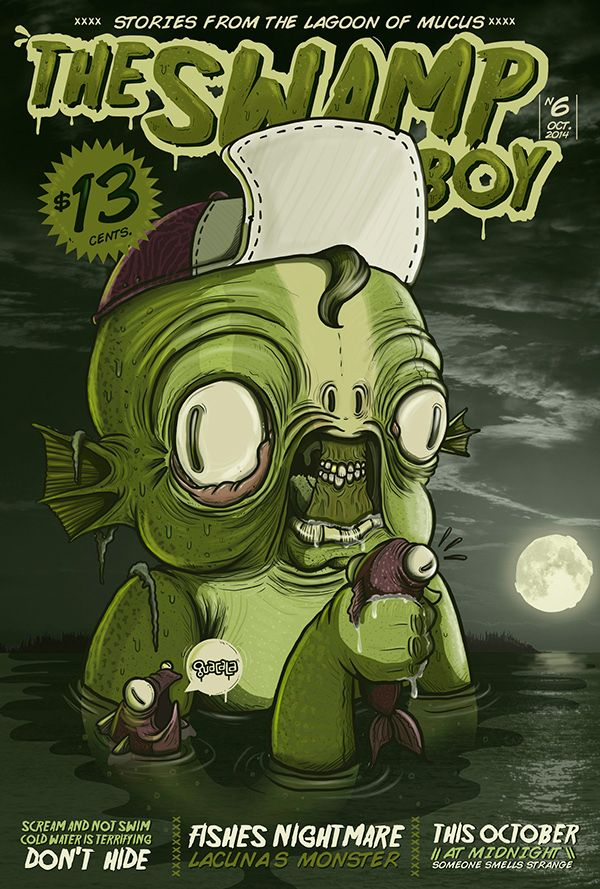 The swamp boy by Guacala #Art #Design