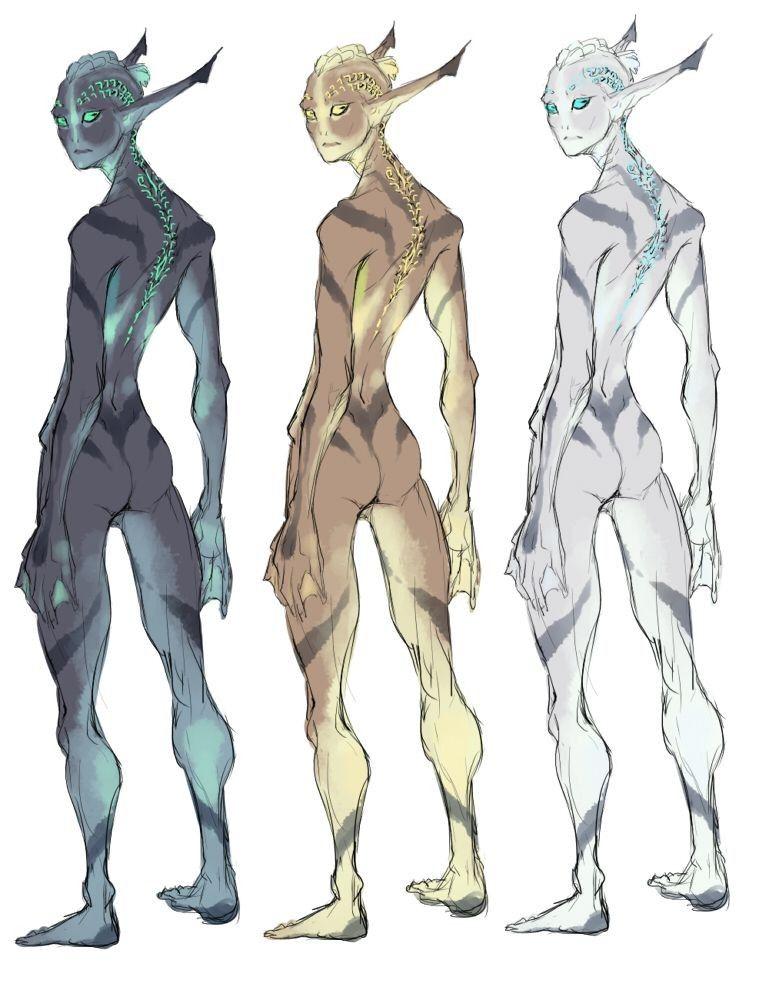 Alien Concept Art Species