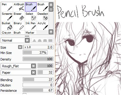 how to add brushes to sai