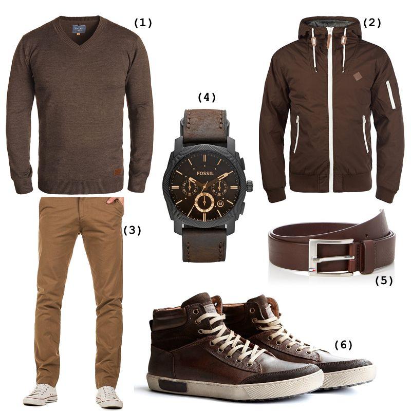 purchase cheap feb8e 9d96d Braunes Herbst-Outfit mit Chukka Boots | Mode: Schuhe ...