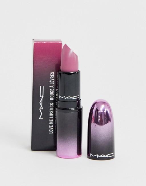 MAC Love Me Lipstick Pure Nonchalance in 2020 Lipstick