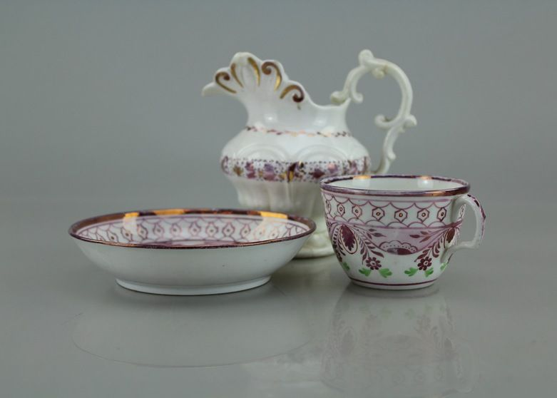 Porcelain Tea Cup With Saucer And Small Decorative Water Pitcher Adorable Decorative Water Pitcher