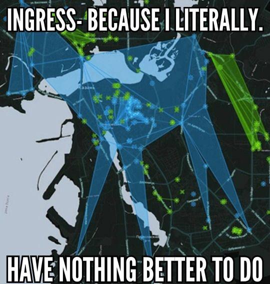 Ingress Memes | Ingress | Ingress enlightened, Ingress resistance, on