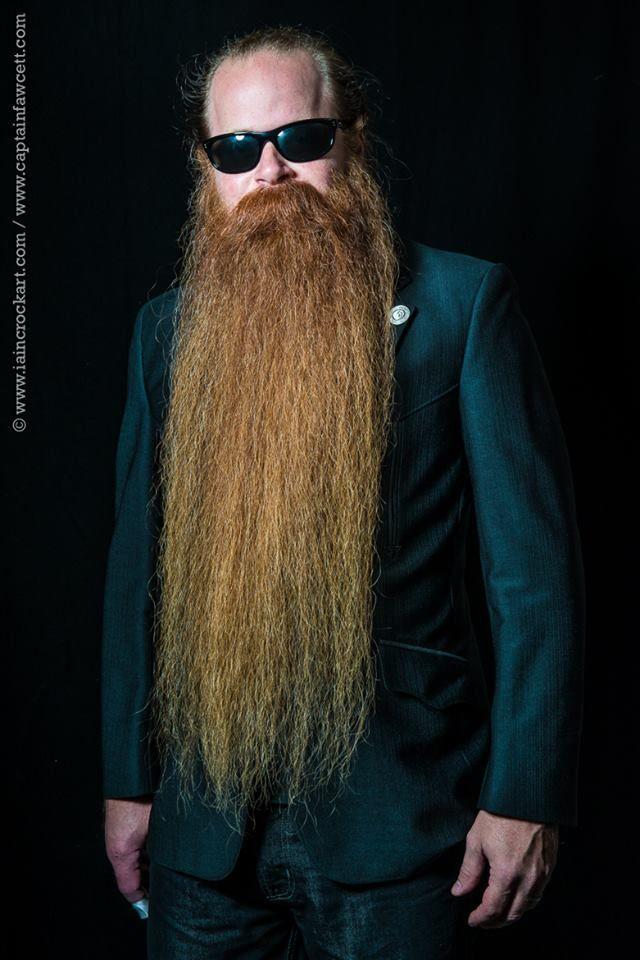 Bryan Nelson - a real gentleman with a world class beard.