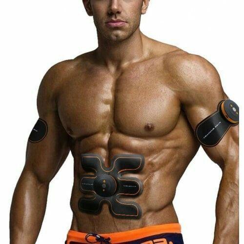 #Black #EMS #fitness Programm zu Hause ohne Geräte #Gear #muscle #ORA -  #schwarz #EMS #fitnessprogr...