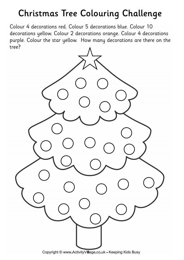 Merry Christmas Coloring Page | Templates at allbusinesstemplates ... | 833x591