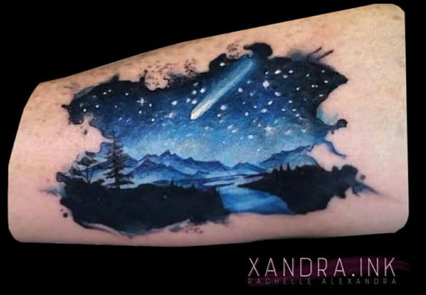 Night Sky Tattoo Google Search New Tattoos Night Tattoo