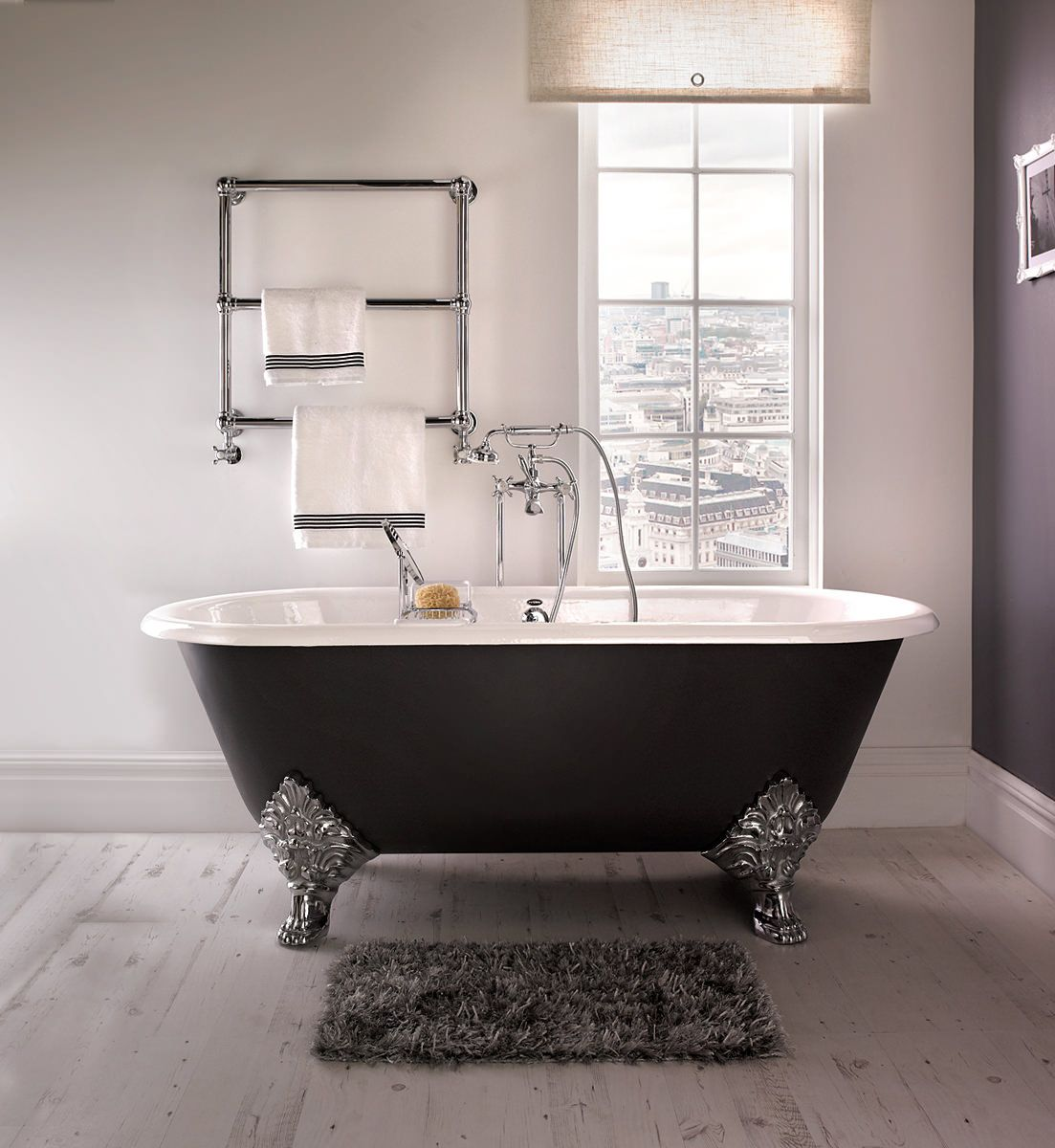 Imperial Roseland 1780mm Cast Iron Bath