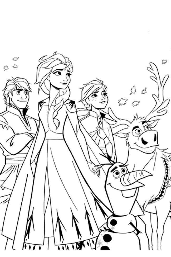 48+ Character elsa coloring pages frozen 2 ideas