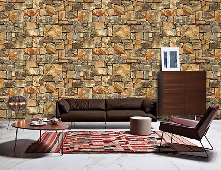 Stone Wallpaper Available now in Karachi 3d brick