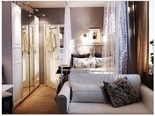 Big Design Ideas for Small Studio ApartmentsBig Design Ideas for Small Studio Apartments   Bedrooms  Studio  . Small Apartment Cozy Bedroom. Home Design Ideas