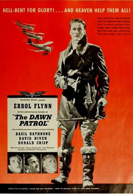 The Dawn Patrol Cartel De Estados Unidos La Escuadrilla Del Amanecer El Escuadrón De La Mu Películas Vintage Carteles De Películas Famosas Carteles De Cine