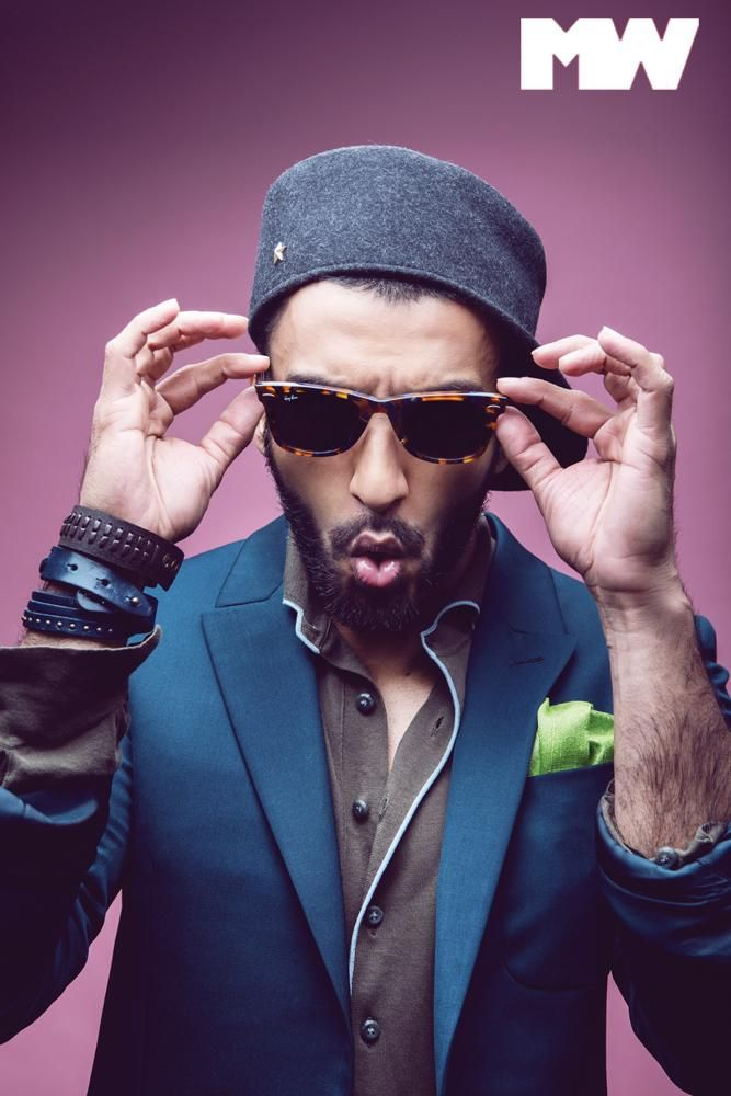 That Funny Guy! Ranveer Singh covers Man's World anniversary issue | PINKVILLA