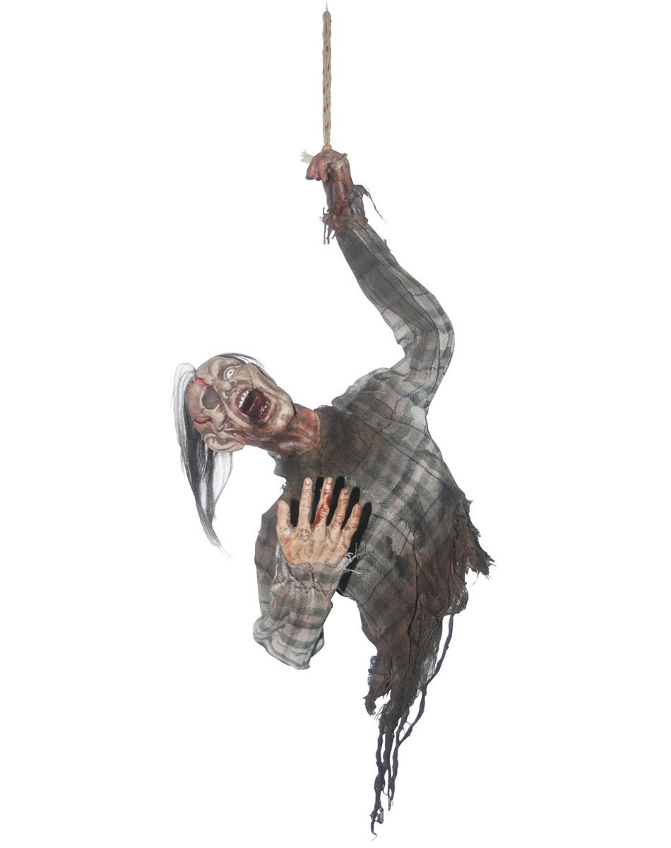 Hanging Bloody Zombie Torso: Who's that guy who keeps hanging ...
