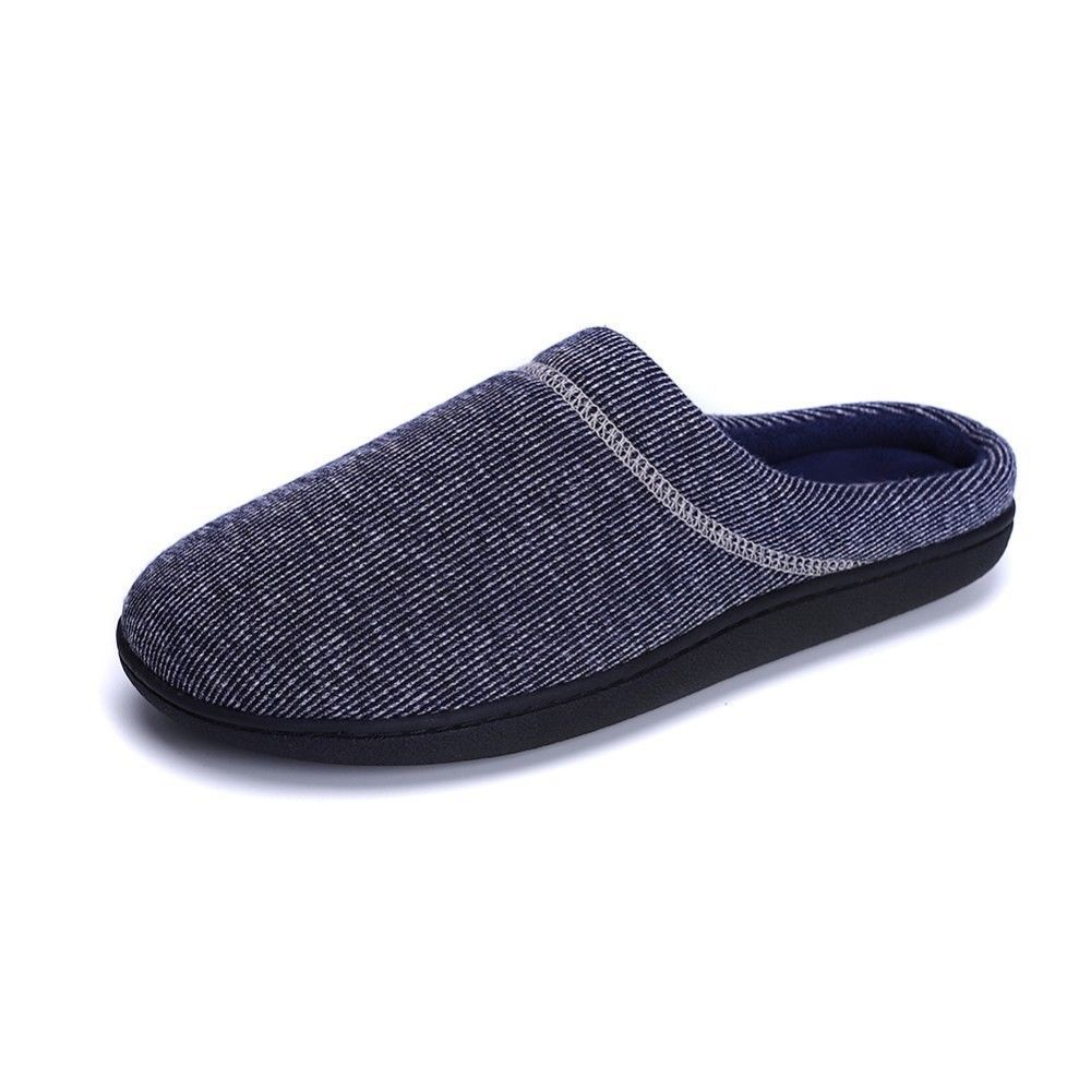 5b257242dfc53 MEN House Slippers Memory Foam Anti-slip Knitted Winter Warm Soft Indoor  BLack L #fashion #clothing #shoes #accessories #mensshoes #slippers (ebay  link)