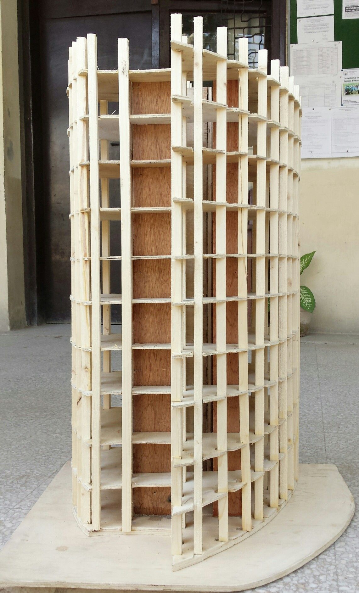 Structure model of high rise building