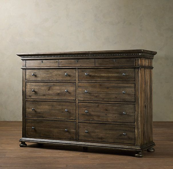 Restoration Hardware St James 11 Drawer Dresser 2455