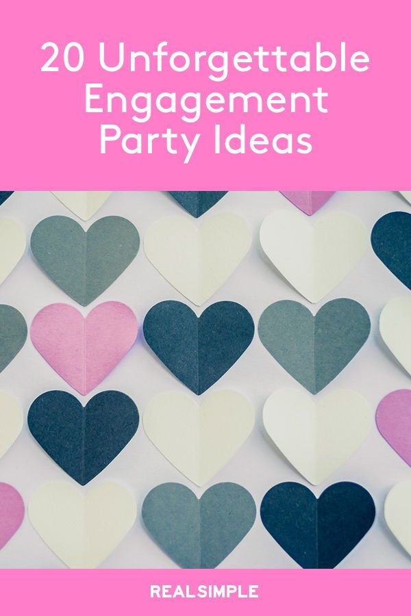 20+ Engagement Party Ideas