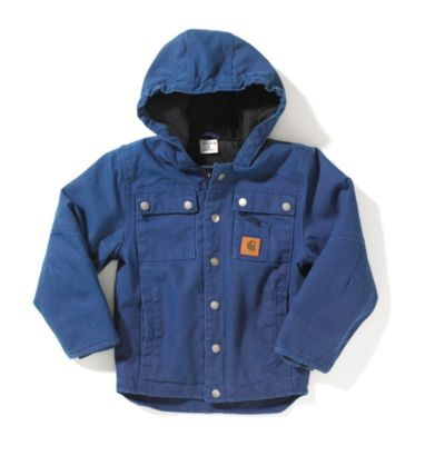 16547ec3d Carhartt - Product - Infant Boy's Rancher Jacket – Quilted-Flannel ...
