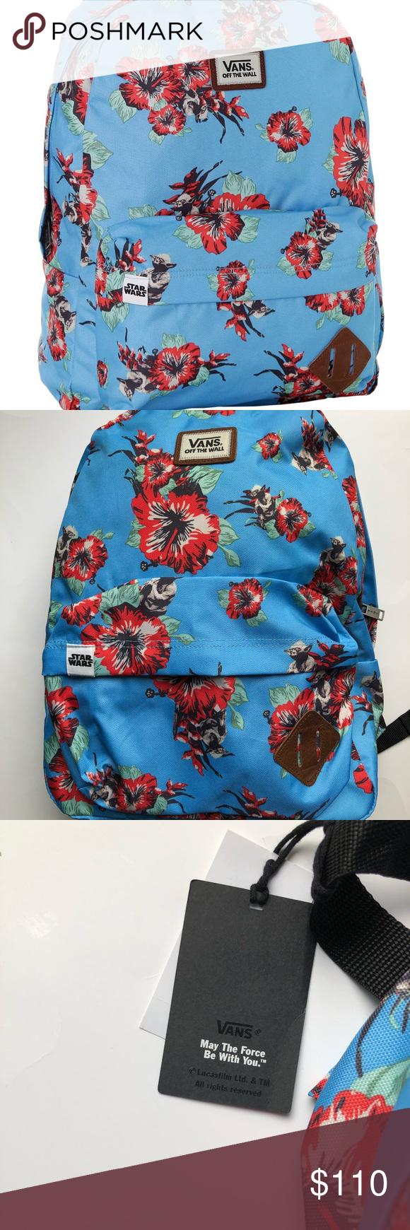 093cba32e8 NWT Disney Star Wars vans backpack ft yoda NWT Backpack from Disney Star  Wars vans line that is sold out Vans Bags Backpacks