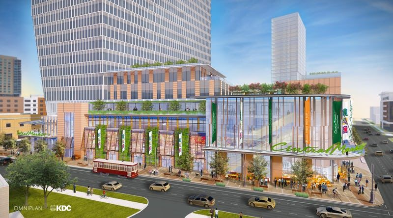 Uptown Dallas New Central Market Store Will Anchor A High Rise